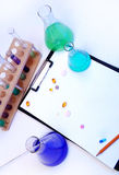 Laboratory research. Royalty Free Stock Photo