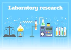 Laboratory research concept Royalty Free Stock Photo