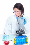 Laboratory research. Stock Photo