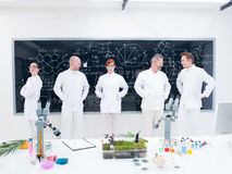 Laboratory researcher team Royalty Free Stock Photography