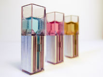 Laboratory samples for chemistry and biotechnology, Isolated. stock photos