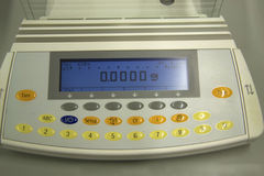 Laboratory scale royalty free stock images