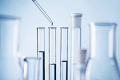 Laboratory scene Royalty Free Stock Photos
