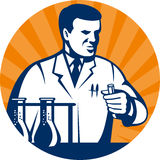 Laboratory scientist researcher Royalty Free Stock Image
