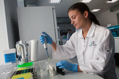 Laboratory services Helix Royalty Free Stock Photo