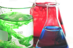 Laboratory set-up Stock Photography