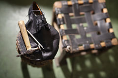Laboratory shoemaker Stock Photography