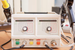 Laboratory Soldering Station Royalty Free Stock Images