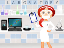 Laboratory technician Royalty Free Stock Image