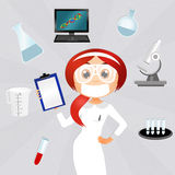 Laboratory technician Royalty Free Stock Photography