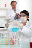 Laboratory technicians Royalty Free Stock Photo