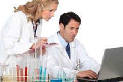 Laboratory technicians Stock Photos