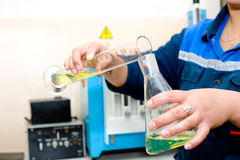 Laboratory test Royalty Free Stock Photos
