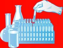 Laboratory test Stock Photos