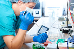Laboratory test Stock Image