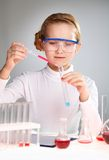 Laboratory test Stock Photography