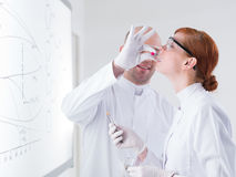 Laboratory test on people Stock Photos