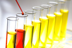 Laboratory test tube reagents - Series 2 Royalty Free Stock Photos