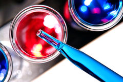 Laboratory Test Tube in Science Research Lab Royalty Free Stock Images