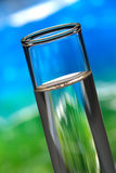 Laboratory Test Tube in Science Research Lab Stock Image