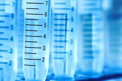 Laboratory test tube. Royalty Free Stock Photography
