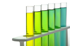 Laboratory Test Tubes in Science Research Lab Stock Images