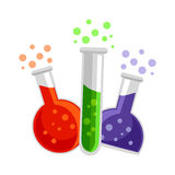 Laboratory Test Tubes Stock Photos