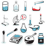 Laboratory tools Royalty Free Stock Photo