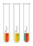 Laboratory tube - vector Royalty Free Stock Image