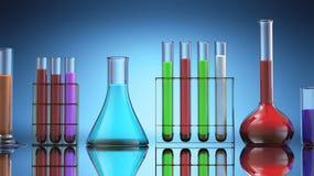 Laboratory Tubes Stock Image