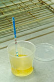 Laboratory urine Stock Photos