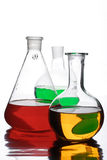 Laboratory utensils Royalty Free Stock Images