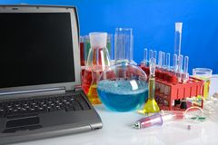 Laboratory ware Stock Images