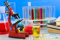 Laboratory ware Royalty Free Stock Image