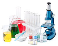 Laboratory ware Stock Photography