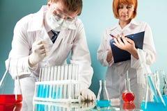 Laboratory work Stock Photo