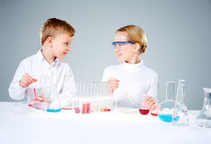 Laboratory work Stock Photo