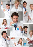 Laboratory work Royalty Free Stock Images