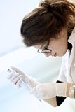 Laboratory work Royalty Free Stock Image