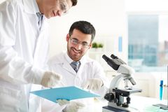 Free Laboratory Work Royalty Free Stock Images - 33658229