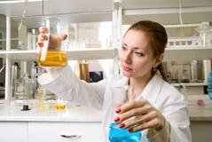 Laboratory worker Stock Photos