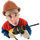 laborer τρυπανιών στοκ φωτογραφία με δικαίωμα ελεύθερης χρήσης