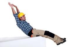 Laborer sliding Stock Photos