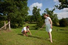 Labores de jardinería Foto de archivo libre de regalías