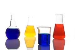 Laborglaswaren Stockfoto
