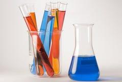 Laborglaswaren Lizenzfreies Stockfoto