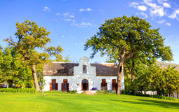 Laborie Manor House. Built in 1750 in the Cape Dutch style, Laborie is considered the most important house in an architectural sense in the Paarl area of the Stock Photo