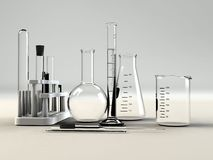 Labormaterial stockbild