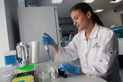 Laborservices Helix Lizenzfreies Stockfoto