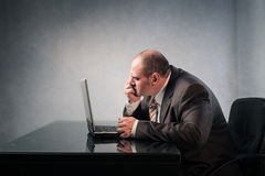 Labour concentration Stock Image